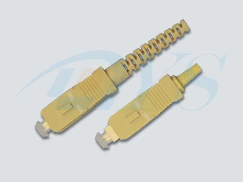SC Simplex Multi-Mode Optical Fiber Connectors