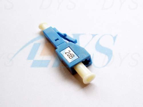 LC / UPC Plug Type Optical Fiber Attenuation Metal Ion Doped Fiber