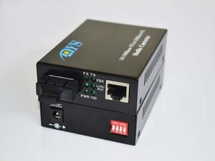 10 / 100 / 1000M SC Port Optical Fiber Media Converter For Optical Network