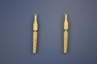 9/125um Suitable multimode ≤ 0.2dB DIN Optical Fiber Connectors For Optical Test Equipment