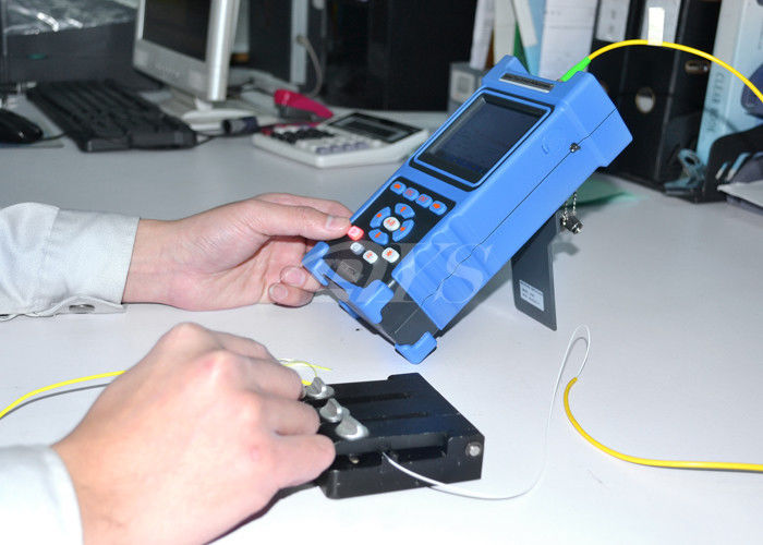 Trung Quốc Multi Language Palm Checking Fiber Optic Test Equipment / Optical Cable Tester DYS3028 nhà cung cấp