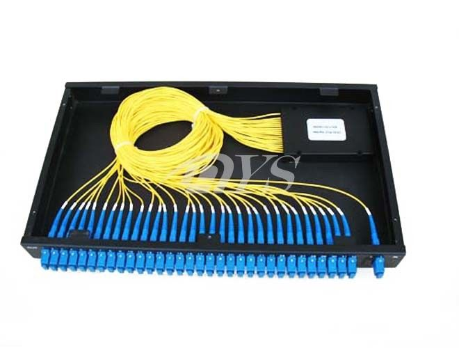 1 x 32 PLC Optical Fiber Splitter SC / UPC Connector , Network Redundancy nhà cung cấp