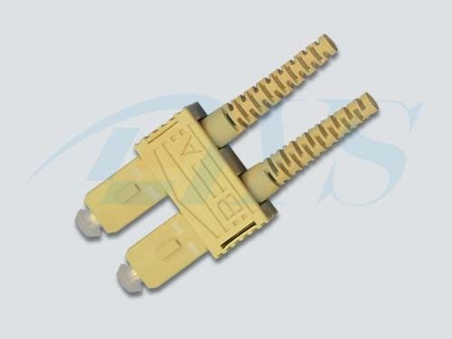 Trung Quốc Beige SC UPC Optical Fiber Connectors 9 / 125um Fiber For Local Area Networks nhà cung cấp
