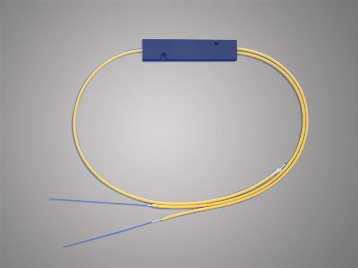 Trung Quốc High Reliability 1 * 2 FBT Optical Fiber Splitter 1310 / 1550nm For Local Access Ntwork nhà cung cấp