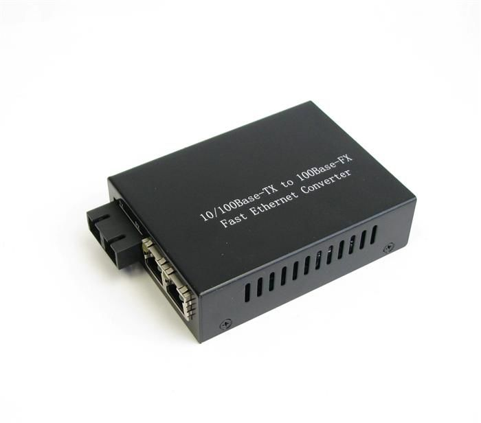 100 Base 2 Lan Port Optical Fiber Media Converters 10M / 100M / 1000M nhà cung cấp